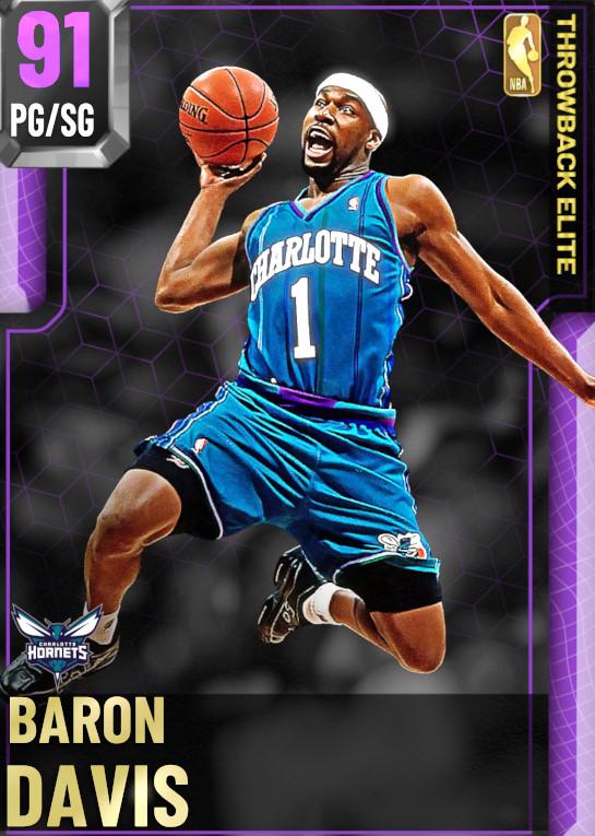 91 Baron Davis | undefined