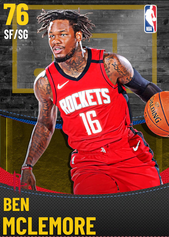 76 Ben McLemore | Houston Rockets