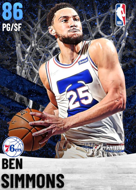 86 Ben Simmons   Philadelphia 76ers