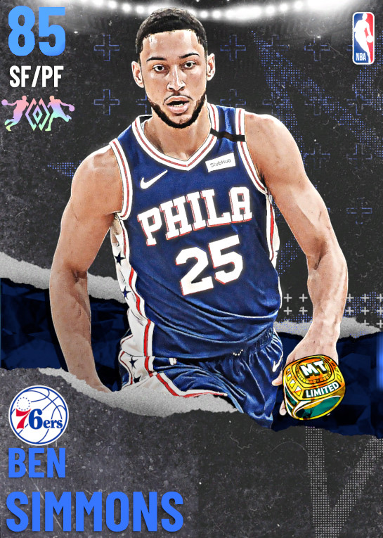 85 Ben Simmons | undefined