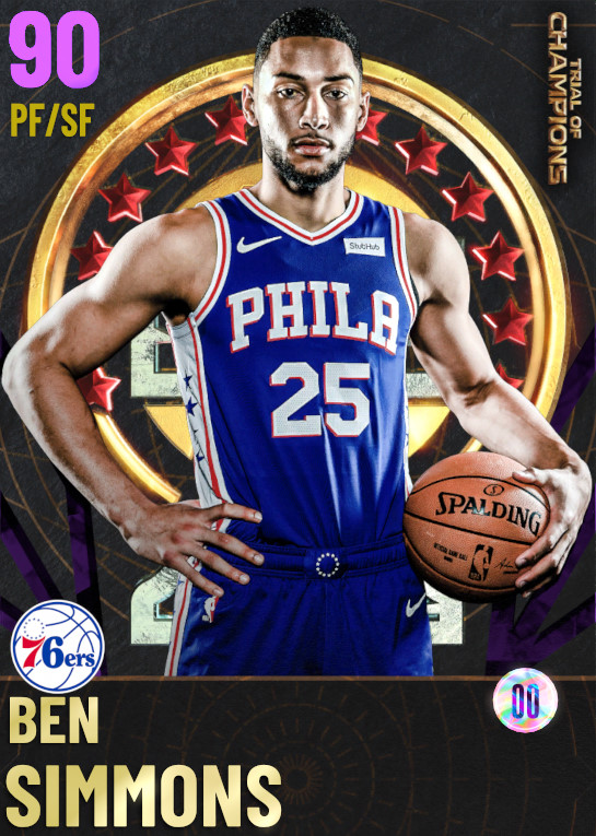 90 Ben Simmons | undefined