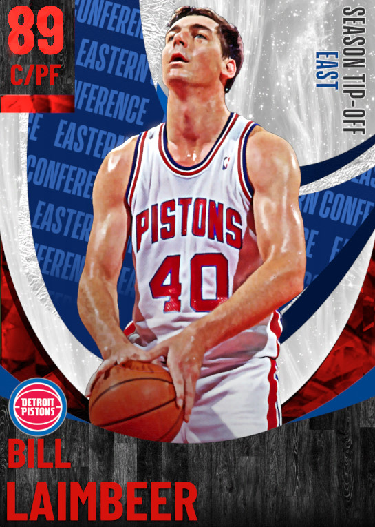 89 Bill Laimbeer | undefined