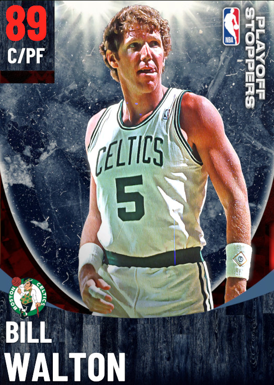 89 Bill Walton   One Will Rise Playoff Stoppers