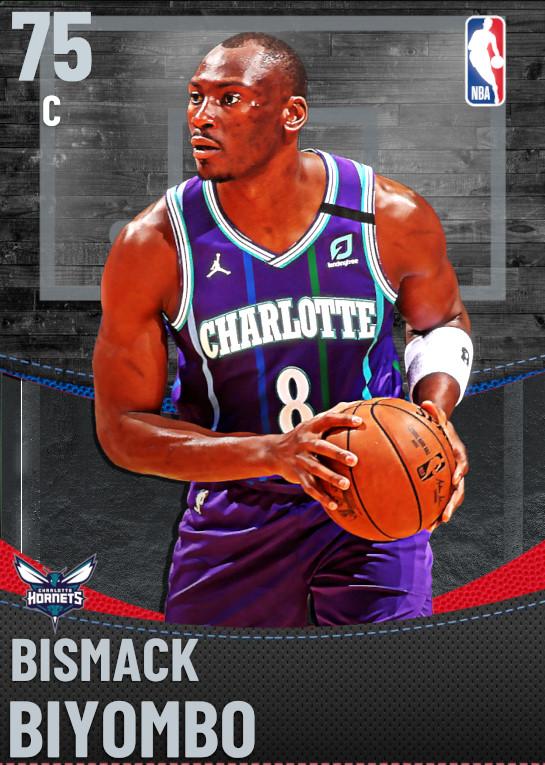 75 Bismack Biyombo | Charlotte Hornets