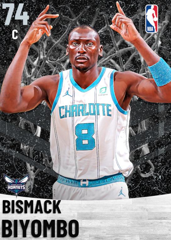 74 Bismack Biyombo   Charlotte Hornets