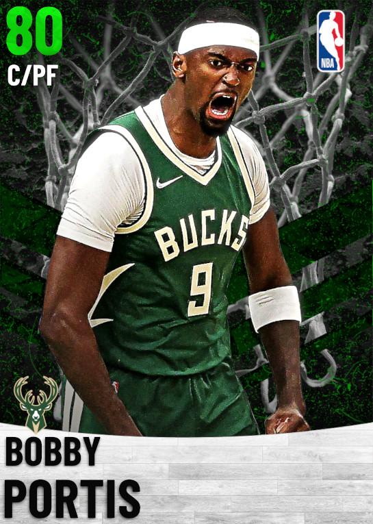 80 Bobby Portis   Milwaukee Bucks