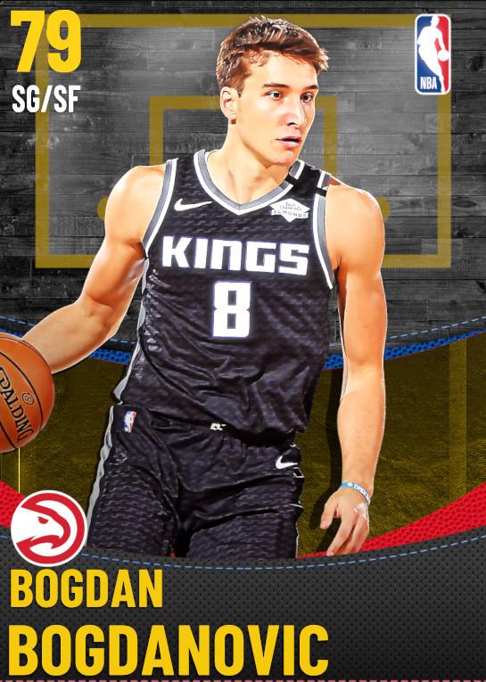 79 Bogdan Bogdanovic | Atlanta Hawks