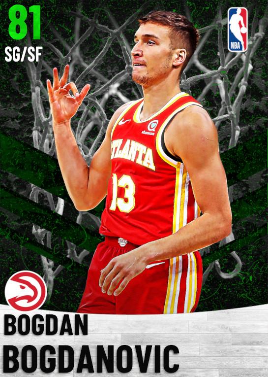 81 Bogdan Bogdanovic   Atlanta Hawks