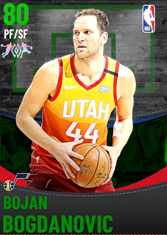 80 Bojan Bogdanovic | Utah Jazz