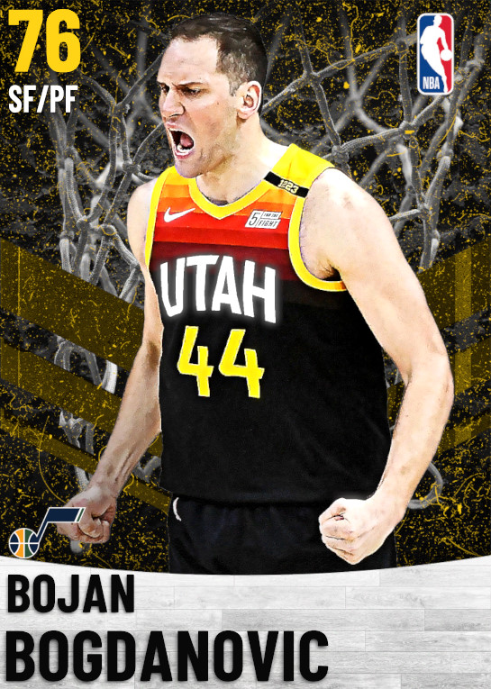 76 Bojan Bogdanovic   Utah Jazz