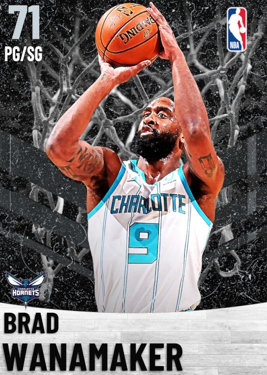 71 Brad Wanamaker   Charlotte Hornets