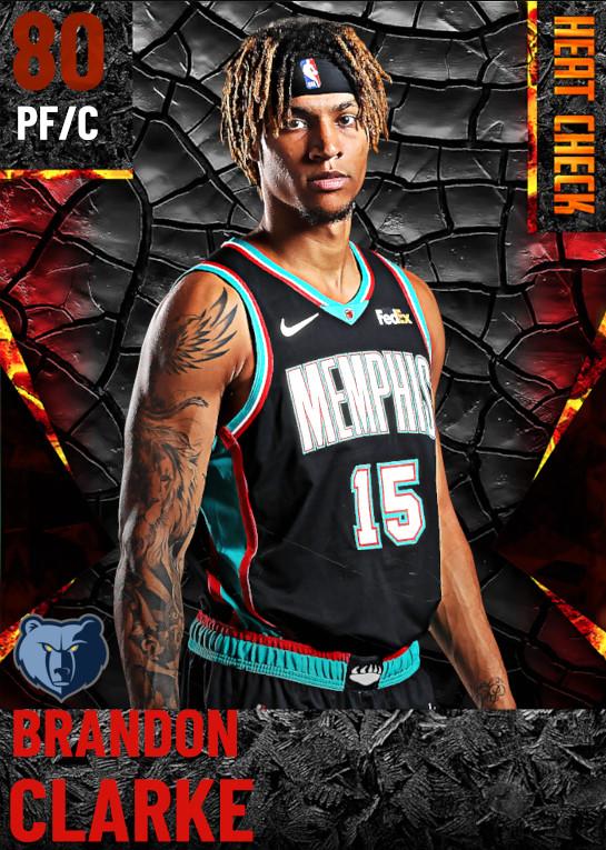 80 Brandon Clarke | Memphis Grizzlies