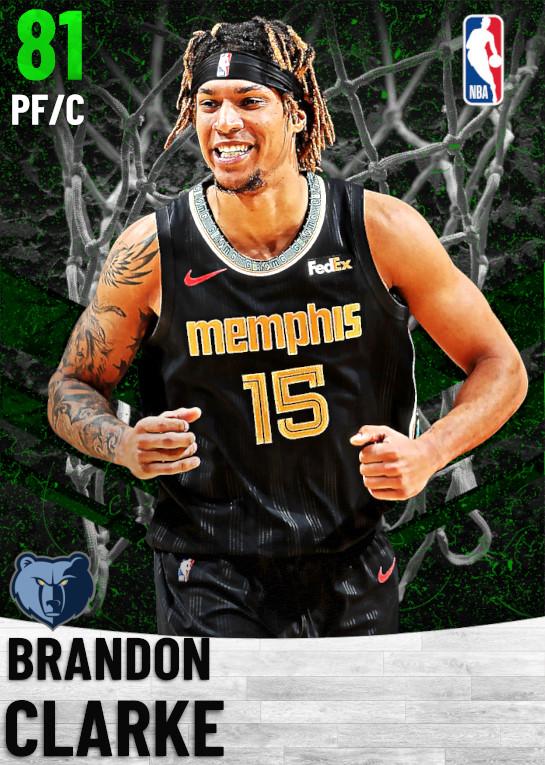 81 Brandon Clarke   Memphis Grizzlies
