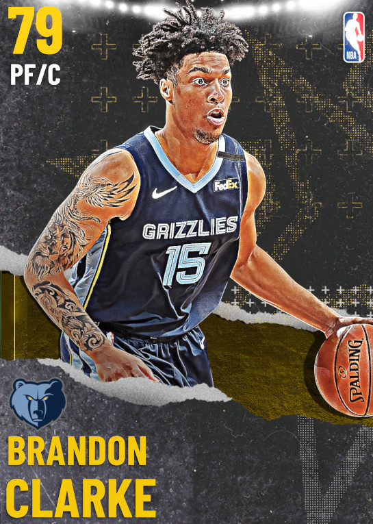 79 Brandon Clarke   undefined