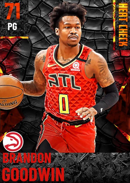 71 Brandon Goodwin | Atlanta Hawks