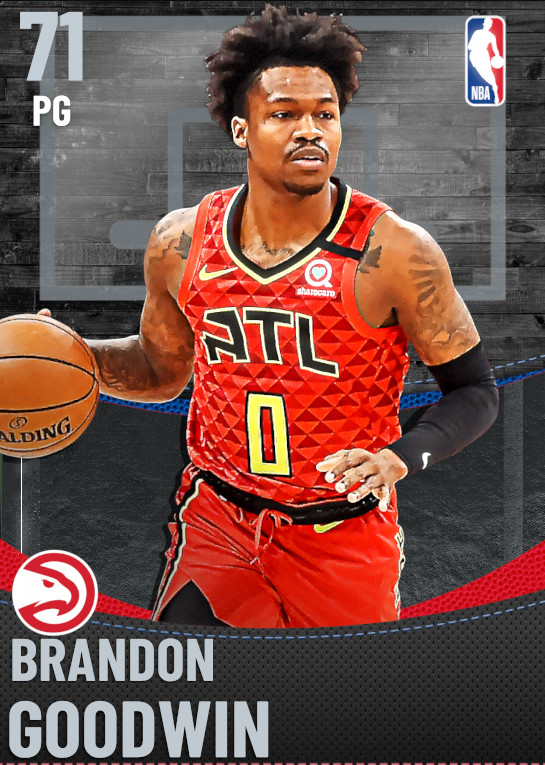 71 Brandon Goodwin | undefined