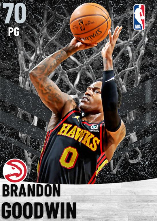 70 Brandon Goodwin   Atlanta Hawks