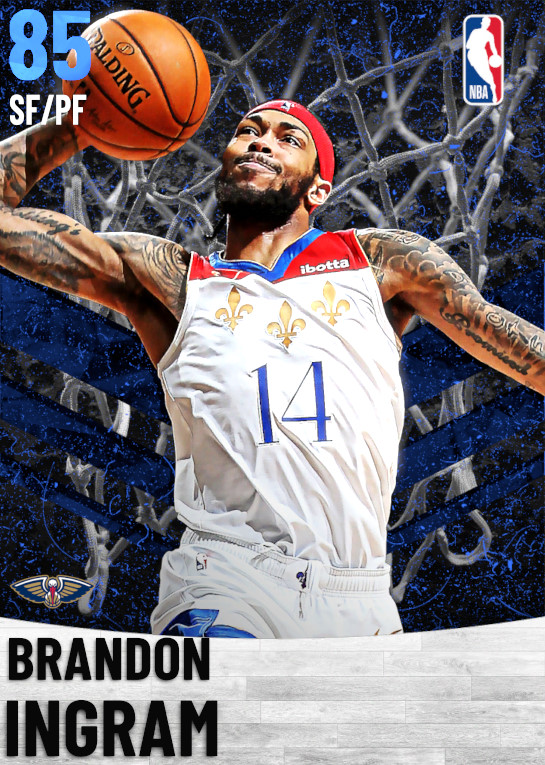 85 Brandon Ingram   New Orleans Pelicans