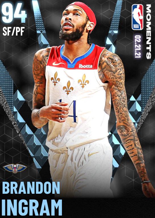 94 Brandon Ingram | undefined
