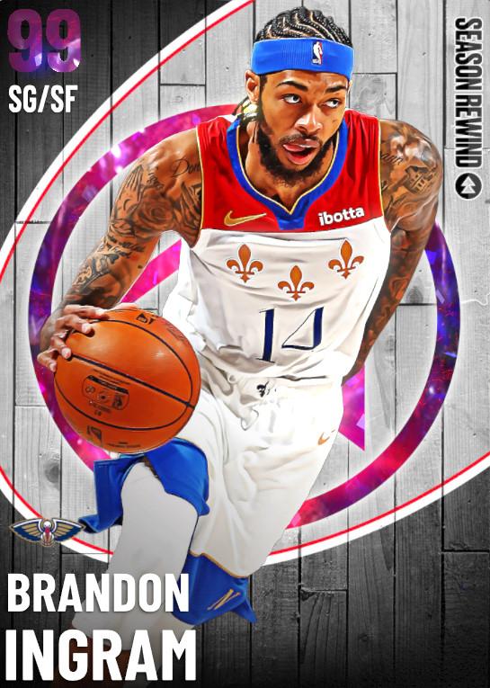 99 Brandon Ingram   undefined