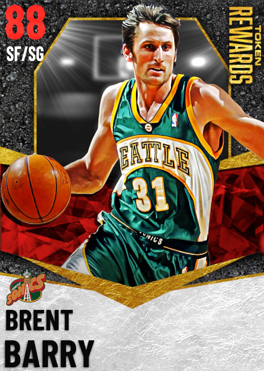 88 Brent Barry | undefined