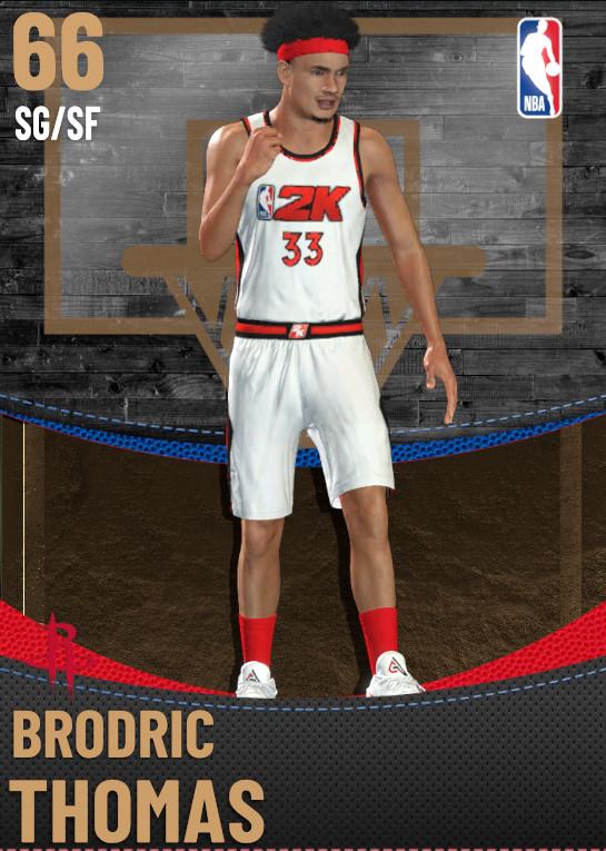66 Brodric Thomas | Houston Rockets