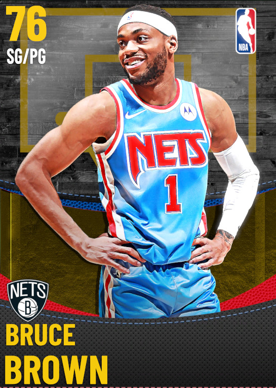 76 Bruce Brown | Brooklyn Nets