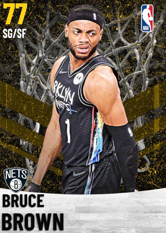 77 Bruce Brown   Brooklyn Nets