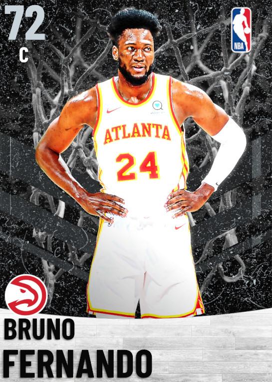 72 Bruno Fernando   Atlanta Hawks