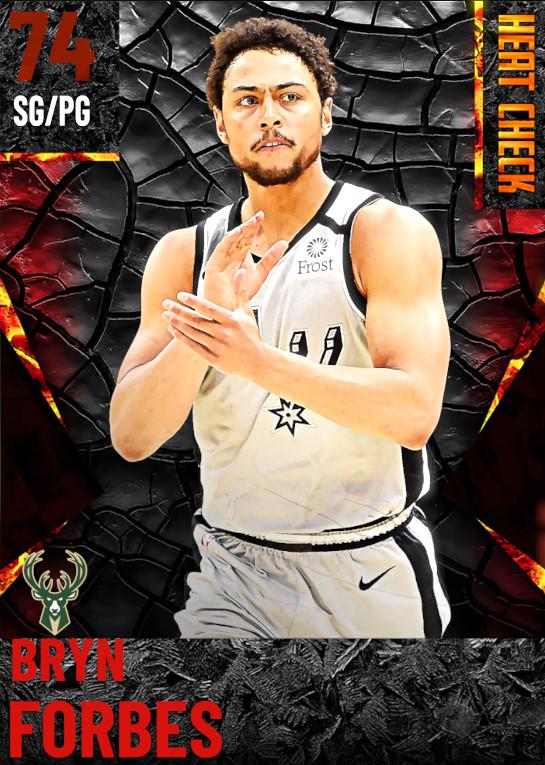 74 Bryn Forbes | Milwaukee Bucks