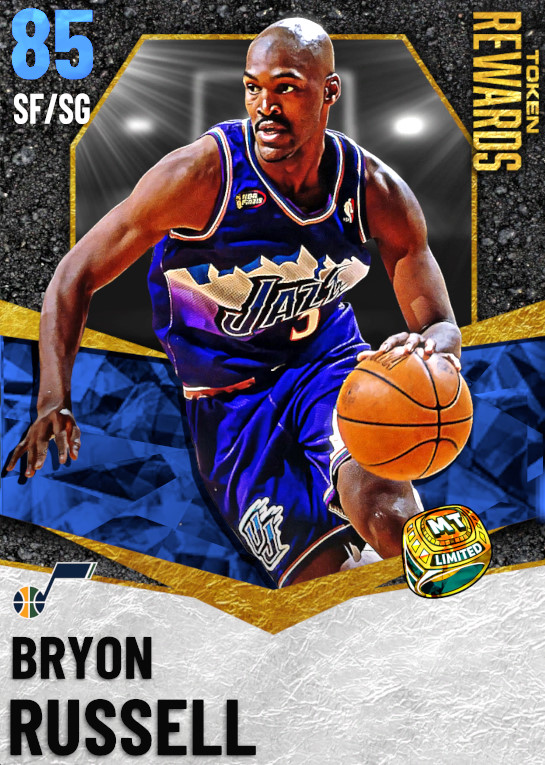 85 Bryon Russell | undefined