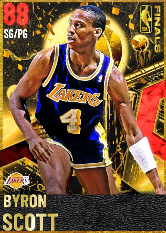 88 Byron Scott | Finals