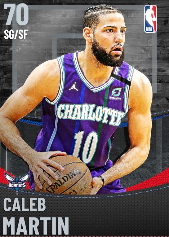 70 Caleb Martin | Charlotte Hornets