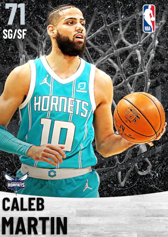 71 Caleb Martin   Charlotte Hornets