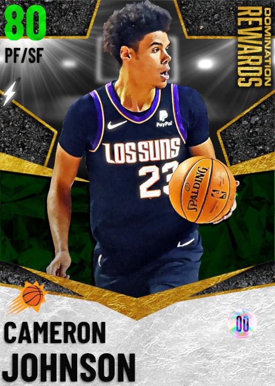 80 Cameron Johnson   Domination Rewards