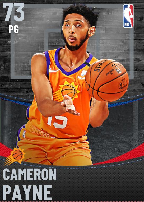 73 Cameron Payne | undefined
