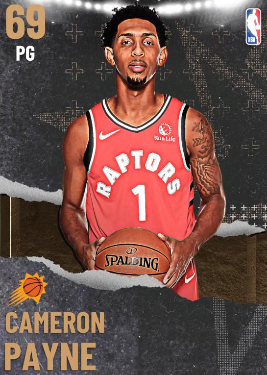 69 Cameron Payne | undefined