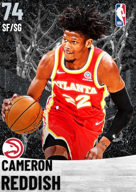 74 Cameron Reddish   Atlanta Hawks