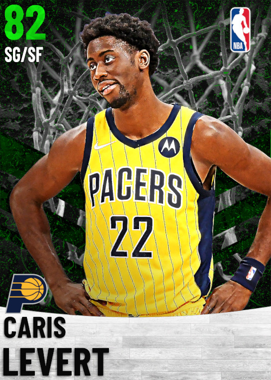 82 Caris LeVert   Indiana Pacers