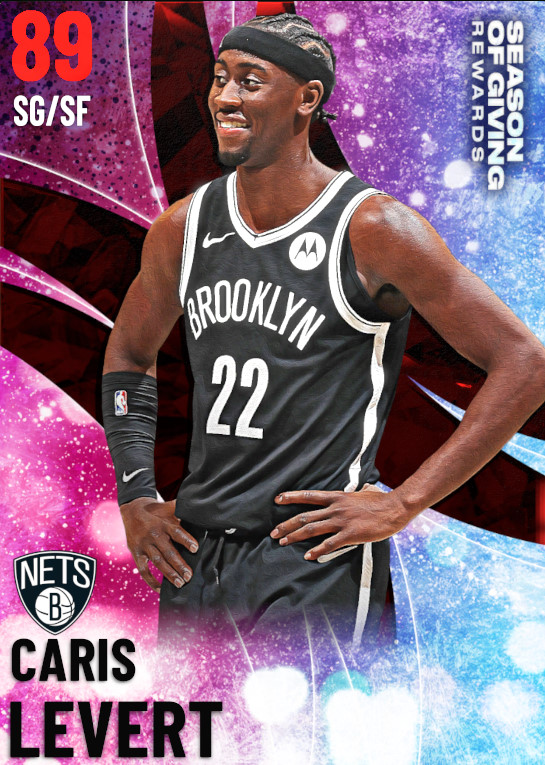 89 Caris LeVert | Season Of Giving Collection