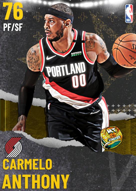76 Carmelo Anthony | undefined