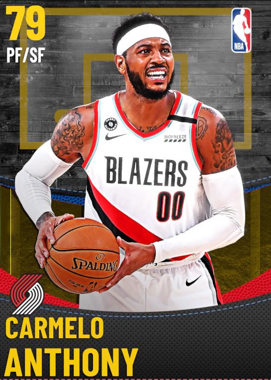 79 Carmelo Anthony | Portland Trail Blazers