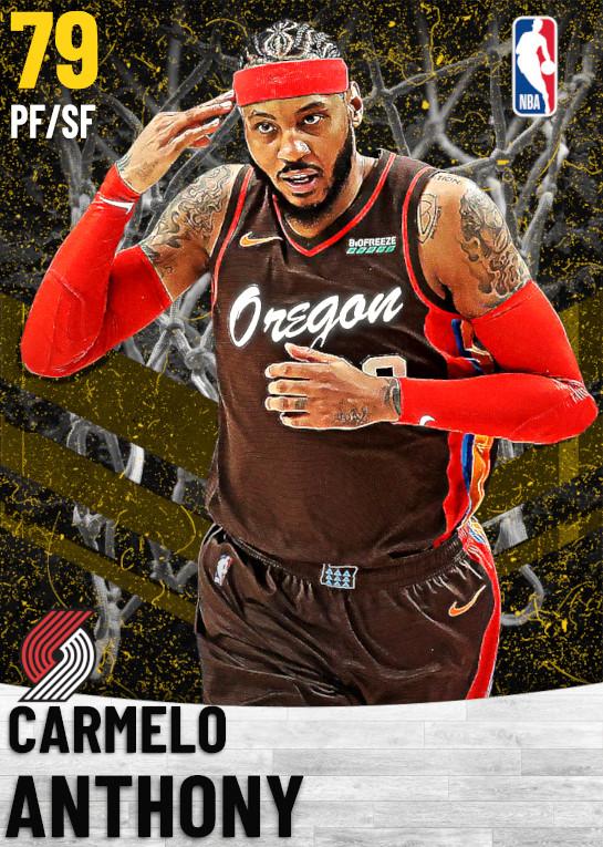 79 Carmelo Anthony   Portland Trail Blazers