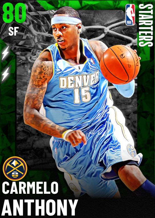 80 Carmelo Anthony   Starter