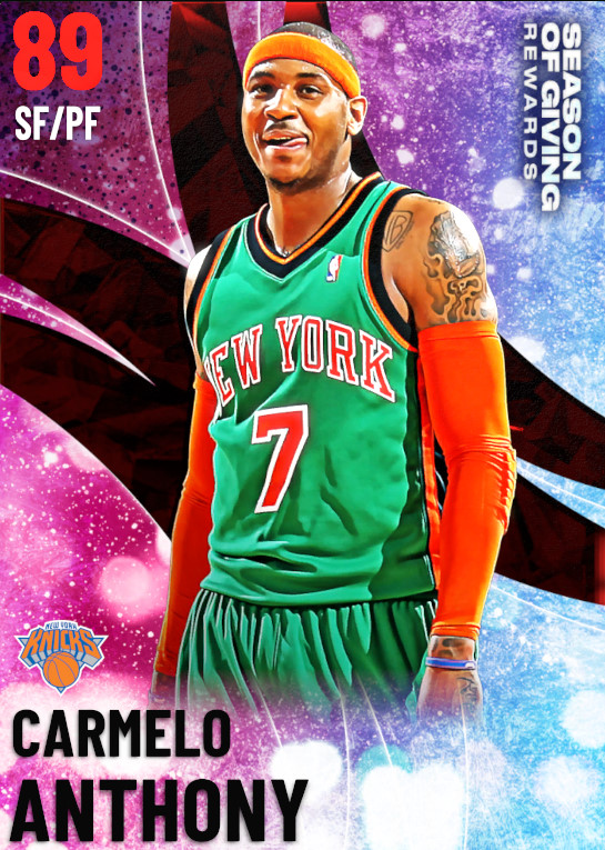 89 Carmelo Anthony | undefined