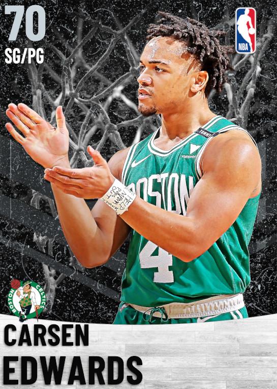 70 Carsen Edwards   Boston Celtics