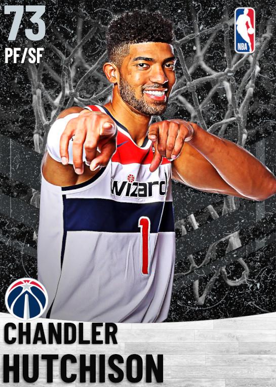 73 Chandler Hutchison   Washington Wizards