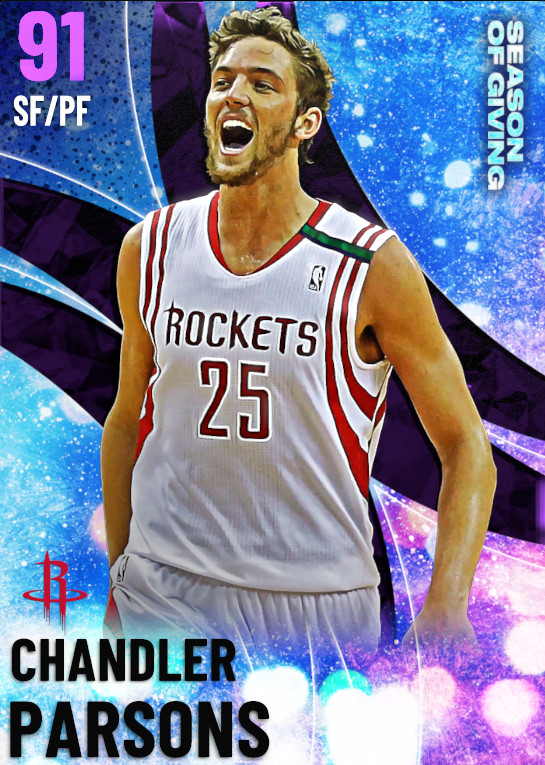 91 Chandler Parsons | undefined