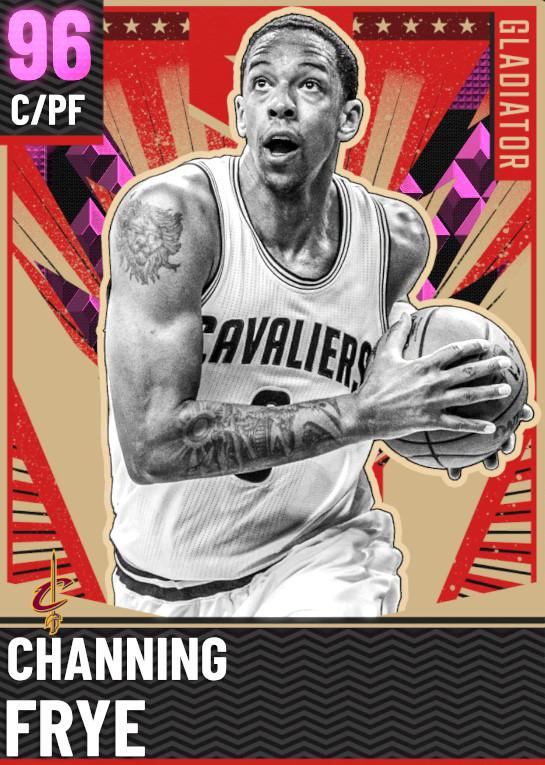 96 Channing Frye   Gladiator