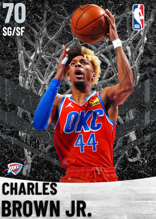 70 Charles Brown Jr.   Oklahoma City Thunder
